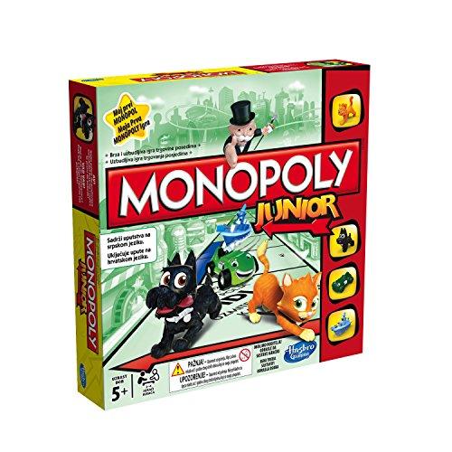 Hasbro Gaming Jogo Gaming Monopoly Junior Azul/Verde
