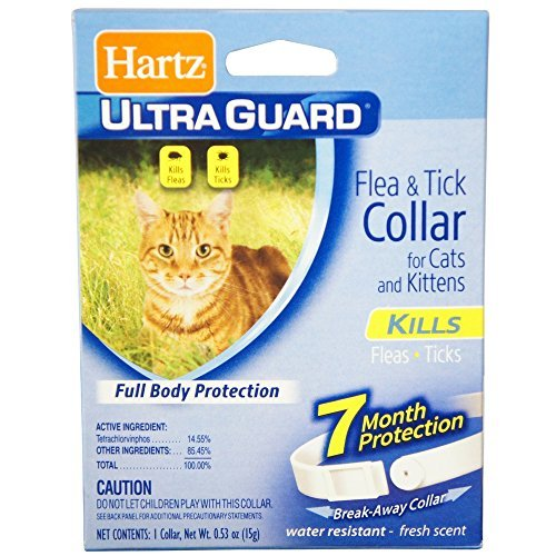 HARTZ UltraGuard Flea & Tick Cat and Kitten Collar - White 1 ea