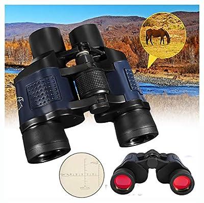 PROGLEAM Telescope & Binocular, 60x60 Optical Binocular Low Light Level Night Vision Telescope HD High Clarity 3000M