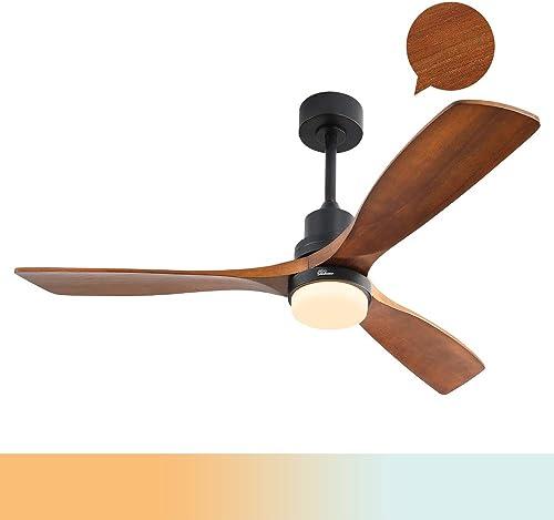 Sofucor Wood Ceiling Fan