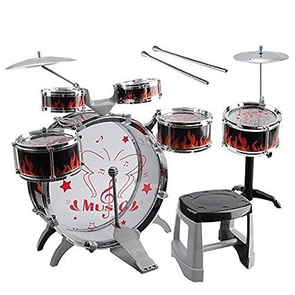 Amazon Com Kids Toy Drum Kit Toogoo R 1 Set Kids Drum Kit Musical
