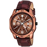 Eddy Hager Brown Day & Date Watch - for Men EH-144-BR