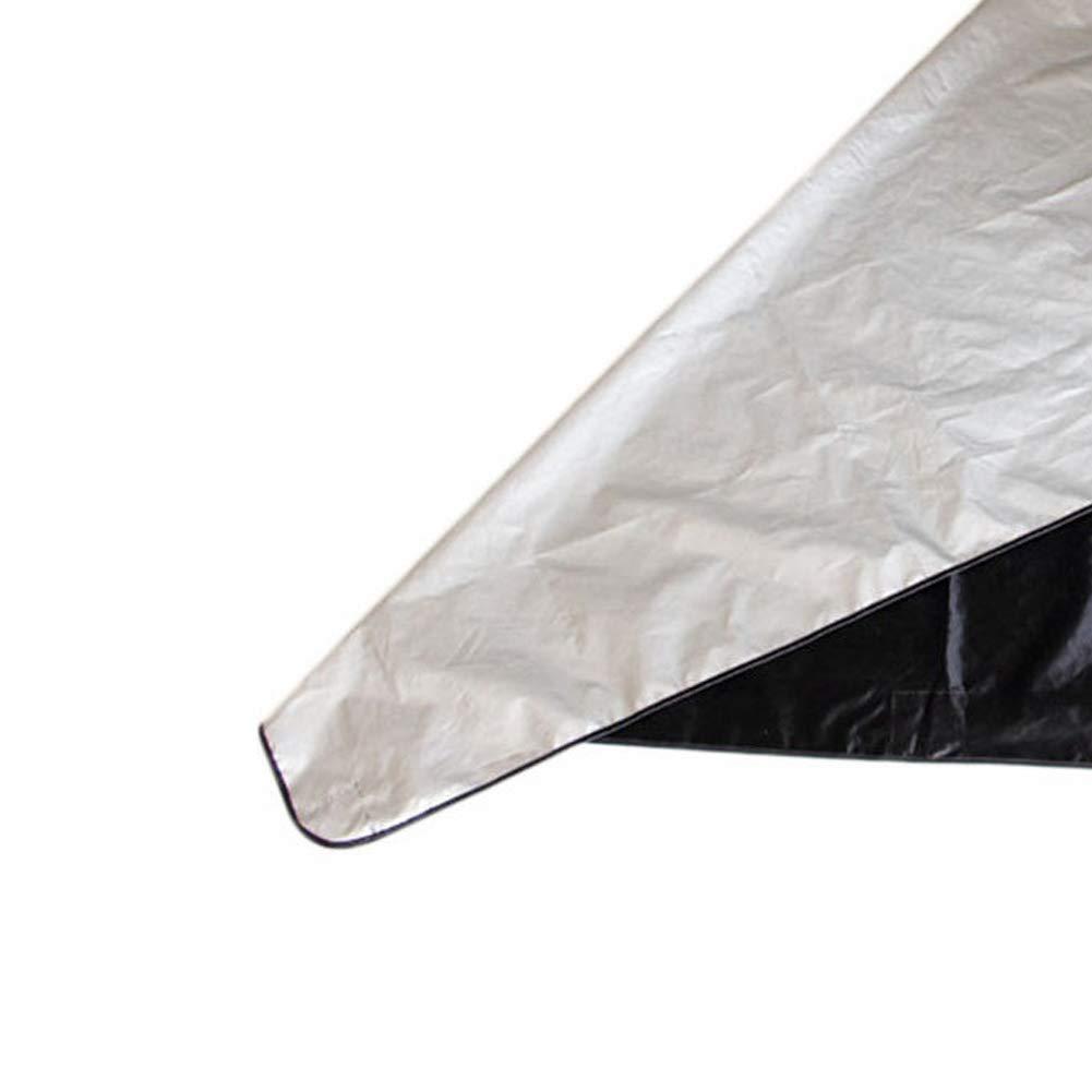 qhtongliuhewu Lot de 5 Housses de Protection magn/étiques pour Pare-Brise de Voiture Anti-Gel Anti-Soleil 210 x 120 cm