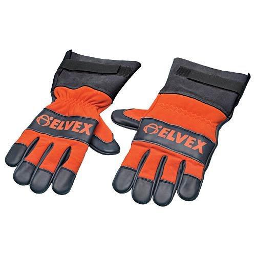 Elvex CSGLV-LG Prolar Chainsaw Gloves - Large, Orange/Black by Elvex (Image #1)