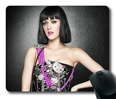 Customizablestyle Famous Singer Katy Perry-1 Mousepad, Customized Rectangle DIY Mouse Pad