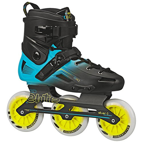 Roller Derby Elite Alpha 110mm 3-Wheel Inline Skate, 06 (Elite In Line Skates)