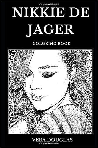 Nikkie de Jager Coloring Book: Legendary YouTube Makeup