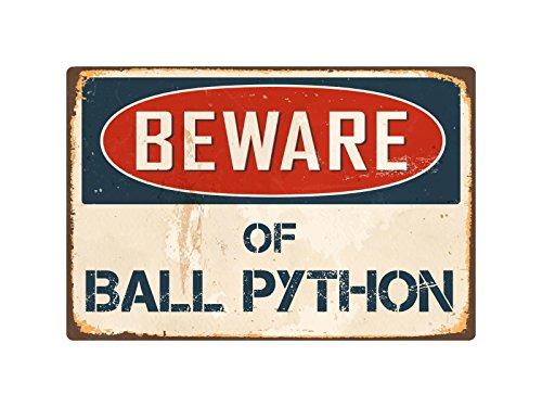StickerPirate Beware of Ball Python 8