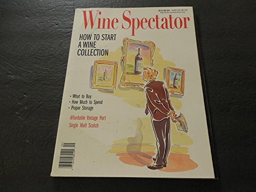 (Wine Spectator Feb 28 1998 How To Start A Wine Collection)