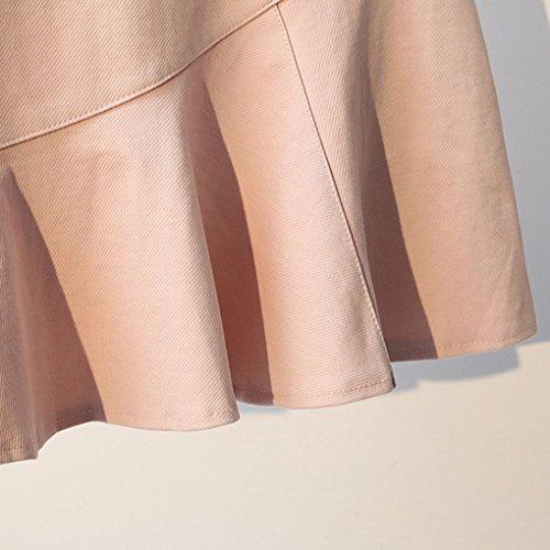 Jupe Solide Fish Coton L Providethebest Tail Femme Femmes Juperose Coton Anti Couleur Exposition Fille IBaxwqF