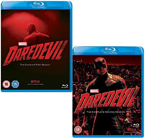 Daredevil: Complete Season 1 and 2 - Marvels Complete Daredevil Collection - 2 Movie Bundling Blu-ray