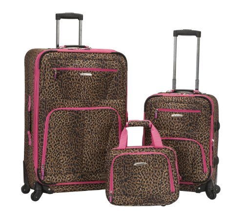 rockland-luggage-19-inch-28-inch-expandable-spinner-14-tote-pink-leopard-one-size
