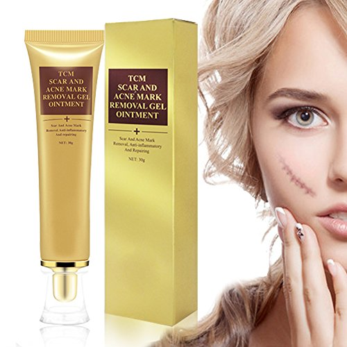 Scar Cream Scar Gel Scar Treatment, Acne Scar Removal Cream,Scar Fade Cream for Face and Body Treat New and Old Scars Acne Scars 30ml