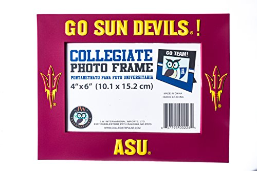 Collegiate Pulse Arizona State Sun Devils NCAA PVC Photo Frame (Arizona Sports Photo)