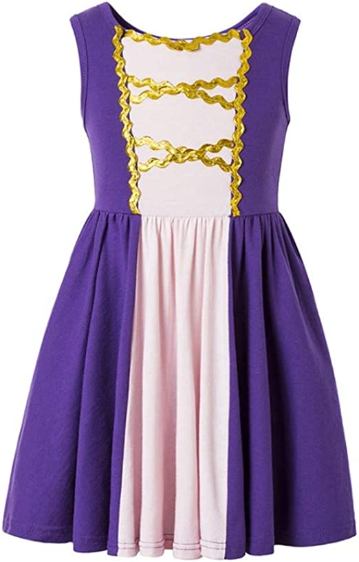 Amazon.com: Rapunzel - Disfraz de princesa Moana para niñas ...
