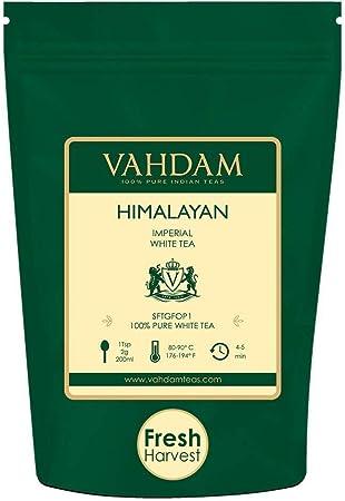 TIPO DE TÉ SALUDABLE DEL MUNDO: el té blanco del Himalaya contiene la mayor cantidad de antioxidante