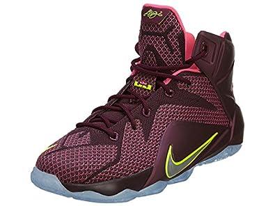 ... double helix burgundy volt pink flash hot lava 684593 607 size us  discount code for kids nike lebron 12 gs basketball shoes merlot volt pink  pow 685181 ... 9c0b5b884