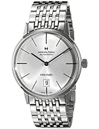 Men's H38455151 American Classic Analog Display Swiss Automatic Silver Watch