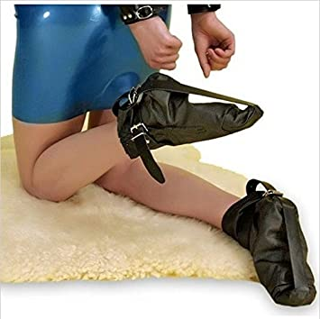 Bondage fetish foot