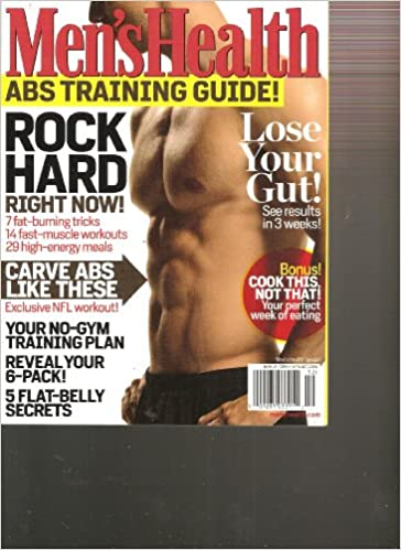 6736cc3630a Men s Health Abs Training Guide 2010 (Rock Hard right Now