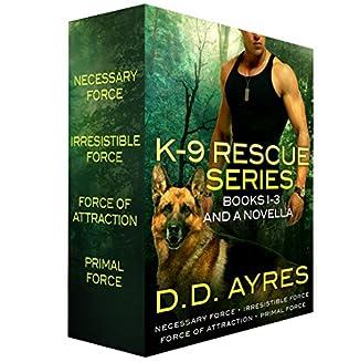 book cover of K-9 Rescue Series Books 1-3   A Novella
