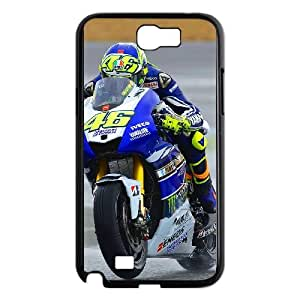 Samsung Galaxy N2 7100 Cell Phone Case Black Valentino Rossi iamj