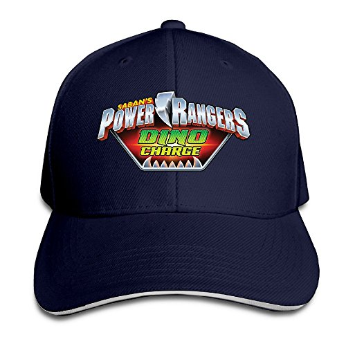 Power Rangers Dino Charge Unisex 100% Cotton Adjustable Baseball Cap Navy One Size