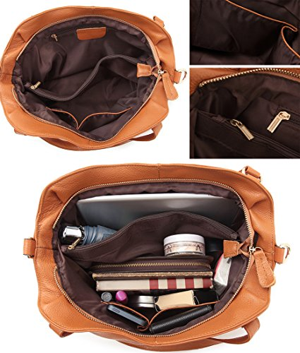 Ladies Womens Body Purse Handle Tote Vintage Satchel Cross Hobo Shoulder Black Bags Handbags and Top Heshe Leather for v6waa