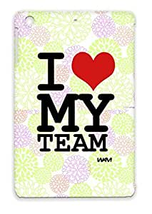 Heart Sayings Football Love Wam Team Soccer Baseball Sports I Football Red Case Cover For Ipad Mini I My By