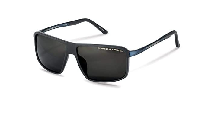 099b66ee3c7fa Image Unavailable. Image not available for. Color  Authentic Porsche Design  P 8650 D Dark Grey Polarized Sunglasses