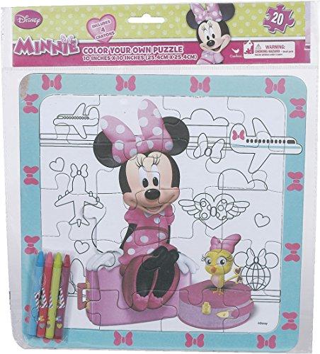 (Minnie Bowtique Color Your Own)