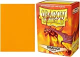 Arcane Tinman Dragon Shield Sleeves Matte Orange Card