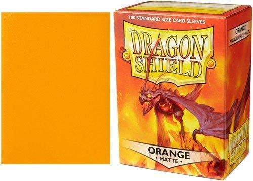 Arcane Tinman Dragon Shield Sleeves Matte Orange Card by Arcane Tinman