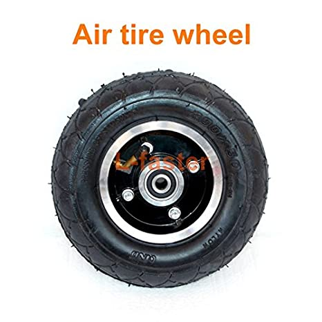 200x50 Electric Scooter Solid Wheel No Air 8 Inch Scooter Wheel With Solid Tire Alloy Hub