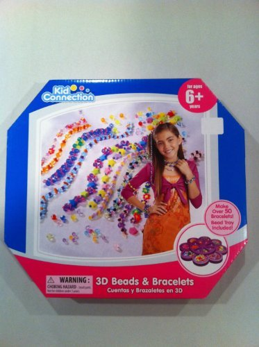Craft Ideas for Kids: 3d Beads & Bracelets by Kid Connection