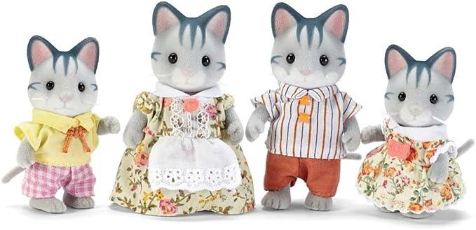 Calico Critters Fisher – Lote de 2 Figuras de Gatos Familia: Amazon.es: Juguetes y juegos