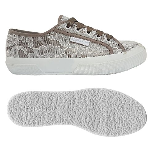 whitelace Sneaker Superga synlealacew 2750 Donna Greysilver wEqCAYHCn