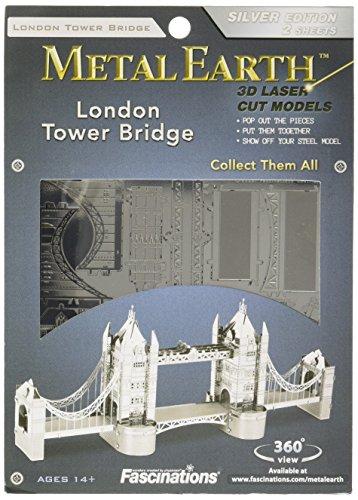 London Tower Bridge - Fascinations Metal Earth London Tower Bridge 3D Metal Model Kit