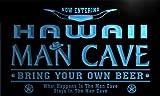 ADV PRO pb2011-b Hawaii State Cities Man Cave Cowboys Bar Neon Light Sign