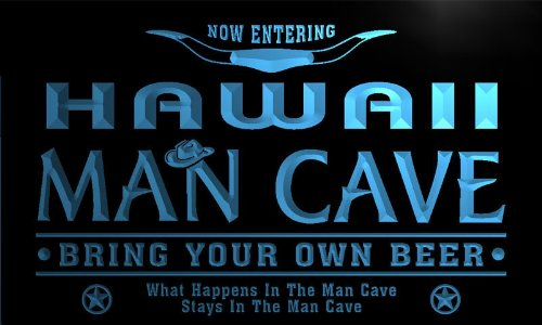 ADV PRO pb2011-b Hawaii State Cities Man Cave Cowboys Bar Neon Light Sign by AdvPro Name