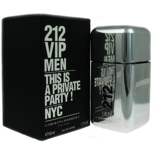 (Carolina Herrer 212 Vip Eau De Toilette Spray for Men, 1.7 Ounce)