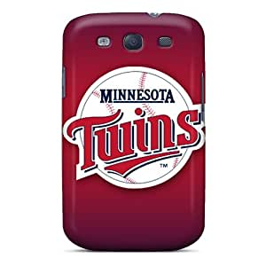 SHcases Galaxy S3 Well-designed Hard Case Cover Minnesota Twins Protector