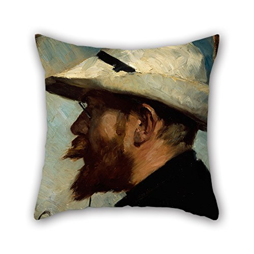 18 X 18 Inches / 45 By 45 Cm Oil Painting Oscar Björck - P.S. Krøyer Pillowcover ,2 Sides Ornament And Gift To Birthday,bench,teens,home Theater,floor,couch