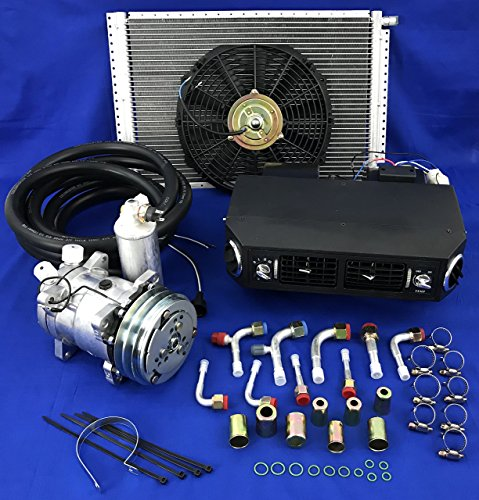 A/C KIT Universal Under Dash Evaporator Compressor KIT AIR Conditioner 432-1 12V W/Electrical Harness
