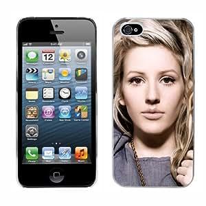 Ellie Goulding cas adapte iphone 5 couverture coque rigide de protection (1) case pour la apple i phone