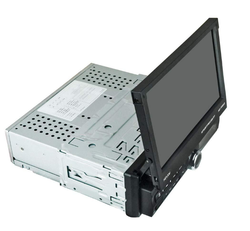 7インチブルートゥース車 Mp5 プレーヤーアンドロイドシステムタッチスクリーンステレオ Fm ラジオ、画面はほとんどのモデルのための隠された1台のマシンカーナビゲーションを縮小   B07MV7Q5KT