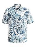 Quiksilver Waterman Men's Siesta Button Down Shirt, Major Blue, X-Large
