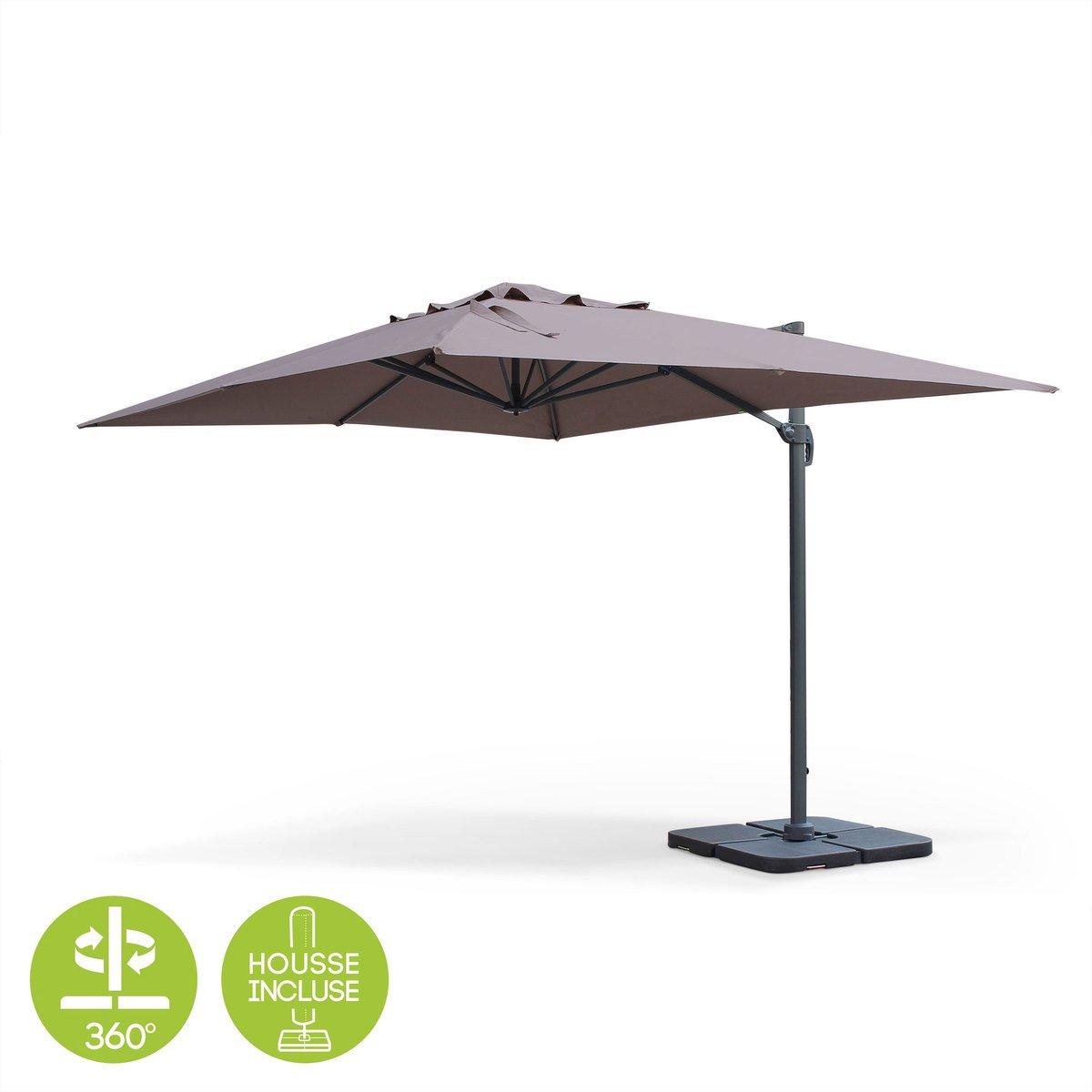 Parasol d porte pas cher tout savoir sur les parasols - Parasol rectangulaire inclinable pas cher ...