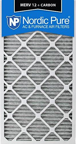 "Pure 20x30x1PM12C-3 Pleated MERV 12 Plus Carbon AC Furnace Filters (3 Pack), 20 x 30 x 1"" [並行輸入品]"