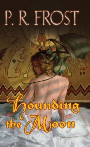 book cover of Hounding the Moon